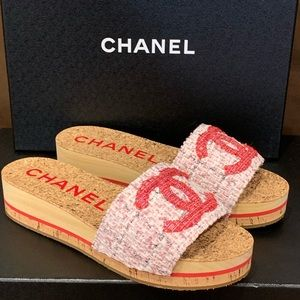 Authentic Chanel Mules
